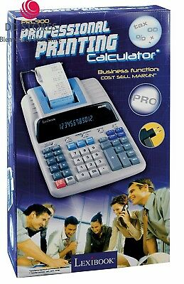 LEXIBOOK - PRC900 Fourniture Scolaire Calculatrice Imprimante
