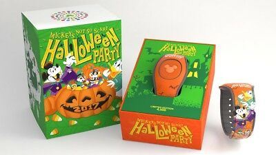 Disney Mickey's Not So Scary Halloween Party Magicband Magic Band Limited 2017