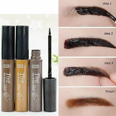 ETUDE HOUSE Tint My Brows Peel Off Gel Eyebrow Makeup Tinting Effect Cosmetics