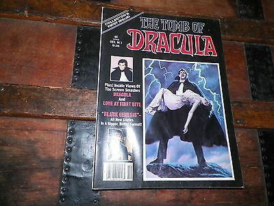 "Oct. 1979 Marvel Monster Group ""The Tomb of Dracula"" Comic Book Magazine #1"