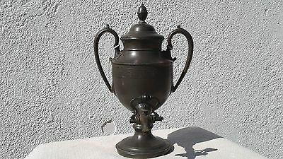 Antique Victorian Silver Plated Samovar Hot Water Urn - Needham, Veall & Tyzach