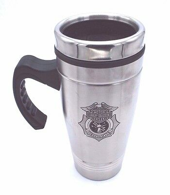 Genuine Harley Davidson Firefighter Original Travel Mug Stainless Steel MG1265