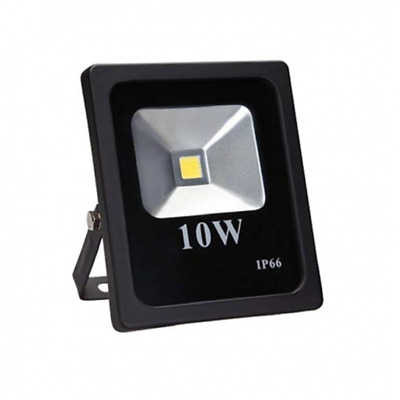 Faro led grigio 10w DC 12v 24v 10watt slim floodlight IP66 faretto da esterno