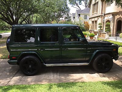 2015 Mercedes-Benz G-Class  Custom Green 2015 Mercedes G550 in Excellent Condition with LOW MILES