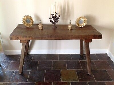 Beautiful Vintage Hungarian Butchers Table