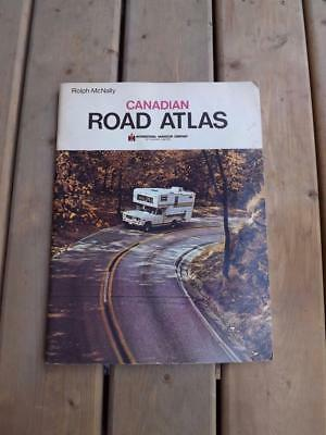 Rolph Mcnally Canadian Road Atlas International Harvester Company Advertising