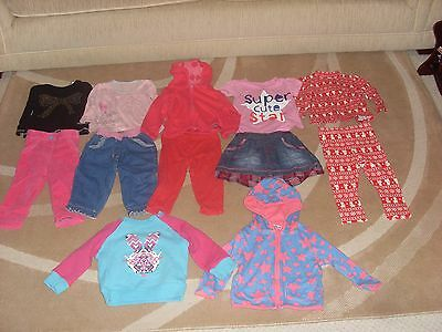 Girls Clothes 12 piece Bundle 6-9 months