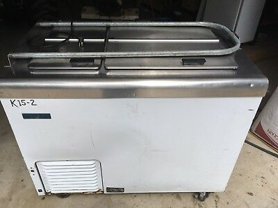Nelson BD6 commercial flip top ice cream Dipping freezer