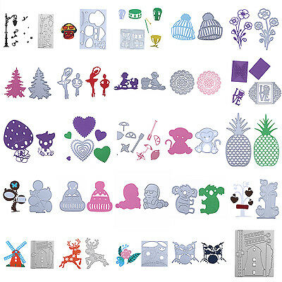DIY Metal Cutting Dies Stencil Scrapbooking Embossing Paper Card Free Shipping
