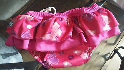girls floaties swim pants 3/6 months