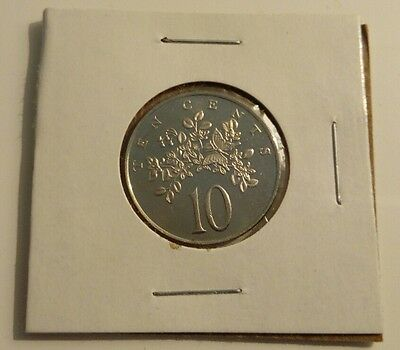 1972 Jamaica 10 Cents Uncirculated