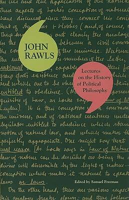 Lectures on the History of Political Philosophy by John Rawls (Paperback, 2008)