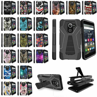 For Alcatel REVVL (T-Mobile) | Alcatel A30 Fierce Dual Layer Case Unique Designs