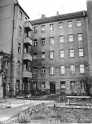 Foto gross Fotos Berlin Charlottenburg 1984 Charlottenburger Ufer Hinterhaus