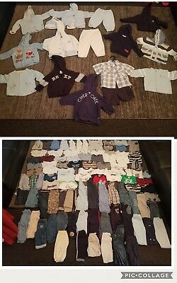 baby boys 6-9 9-12 months clothes bundle 120 items