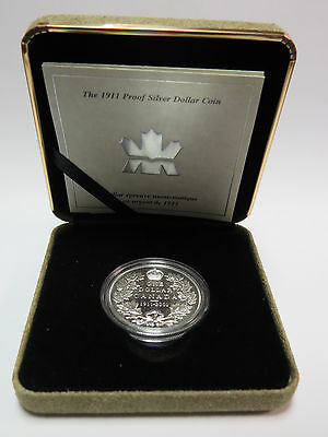 1911-2001 Royal Canadian Mint Proof Silver $1 Dollar Numismatic Mystery of 1911