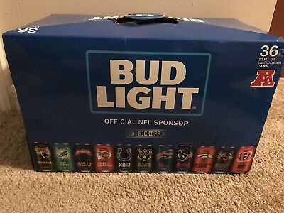 NFL Bud Light 2017 Cans Limited Edition