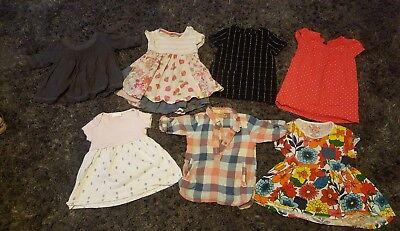 girls next dress bundle 6-9 months