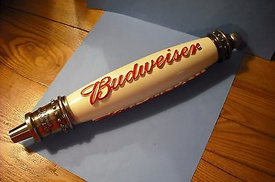 BUDWEISER Beer Tap Handle. Excellent Cond. 12""