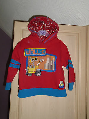 boys cotton hooded jumper age 12/18 months WALL-E