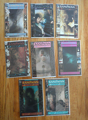 Sandman: Master Of Dreams #1-8 First Appearance of Death (1989)
