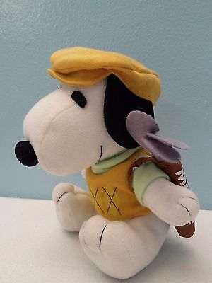 "Metlife Snoopy ""GOLFER""  6"" Plush Toy Stuffed Animal Peanuts  EXCELLENT!     i"