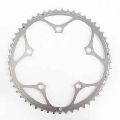 Shimano Dura-Ace 53T Chainring 130mm BCD 9spd Triple Silver