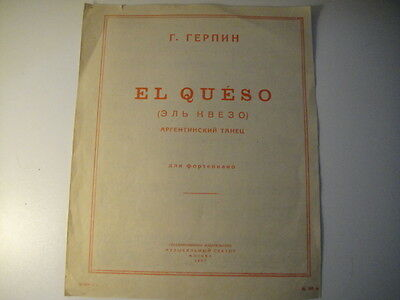Sheet music el cumbanchero picclick uk for Aaron copland el salon mexico score