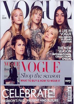Vogue UK Magazine September 2017 - International Collections Issue