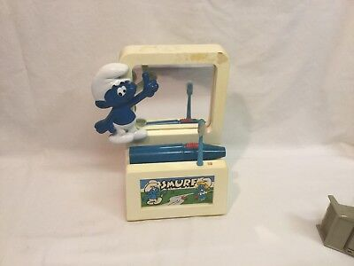 Collectible Smurf Battery Toothbrush