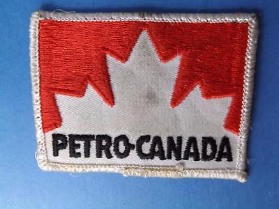 Petro Canada Gas Oil Company Employee Patch Gas Service Station Vintage