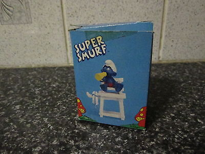 Smurf Lifeguard Smurf Applause version vintage Rare (e)