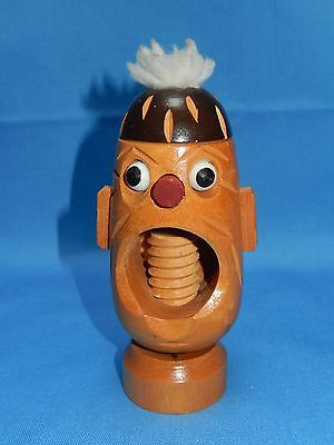 Vintage Character Head Nutcracker ~ German of Type