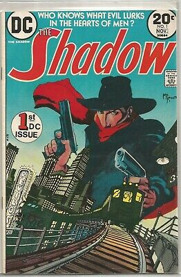 The Shadow #1 DC 1973 Bronze Age Comic FN+/VF- (1st DC Series & Appearance)