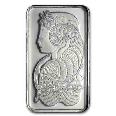Pure Platinum ~1~Gram Pure .999 ~ Fortuna ~ Sealed Coa ~ Pamp Suisse Bar ~$59.88