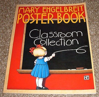 Mary Engelbreit-Classroom Collection Poster Book 12 Thick Pages NM+ Condition ME