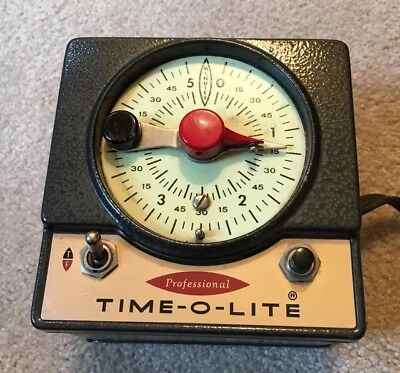 Vintage Time-O-Lite Professional Timer, very nice