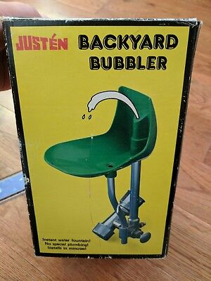 VINTAGE Drinking Water Fountain Bubbler Fits normal hose! Toy drinking NIB