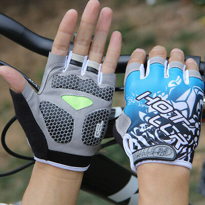 New Fashion Cycling Bike Bicycle GEL Shockproof Sports Half Finger Glove M-XL