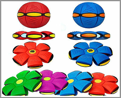 Magic Frisbee Ball Flying UFO Flat Throw Disc Kids & Adult Outdoor Toy Park Game