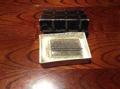 Vintage Retro Genuine Parklane Silver Keyring With Original Box.