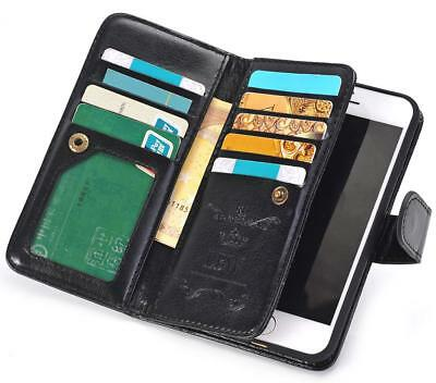 Luxury Flip Cover Wallet Card Leather Phone Case Stand For Apple iPhone 7 Plus