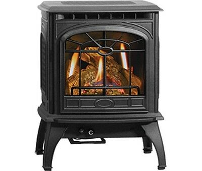 Quadra Fire Garnet Solitaire High Efficiency Natural Gas Propane Vented Stove