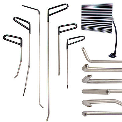 DIY PDR Kits Dent Repair Puller Rods Removal Hail Paintless Line Board Tools Car