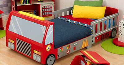 Fire Engine Toddler Bed.Kidkraft Fire Truck Toddler Bed New Condition 100 00