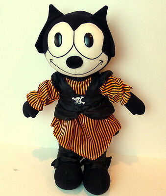 "Felix the Cat 2003 Pirate 15"" Plush Doll"