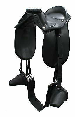 Pony Pad / Childs Saddle Fully Mounted (Toddler Size - 7 years)  BACK IN STOCK!