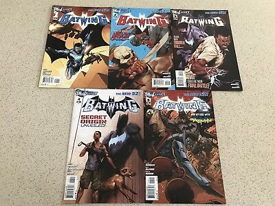 Batwing Issues 1-5 DC Comics Batman New 52