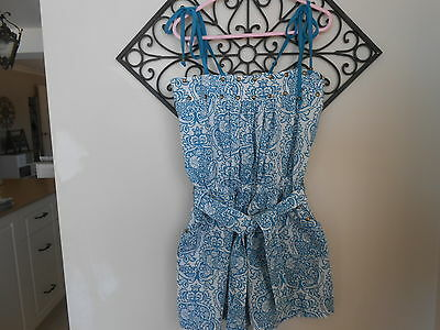 Girls Jumpsuit/playsuit Size 10Years