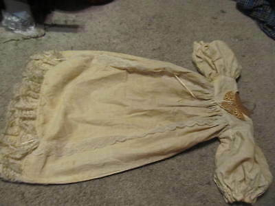 old antique victorian 1800s baby fancy dress christening gown hand made vintage